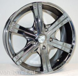 MK-150S 9х20 5x150/50 d 110.2 Black Chrome